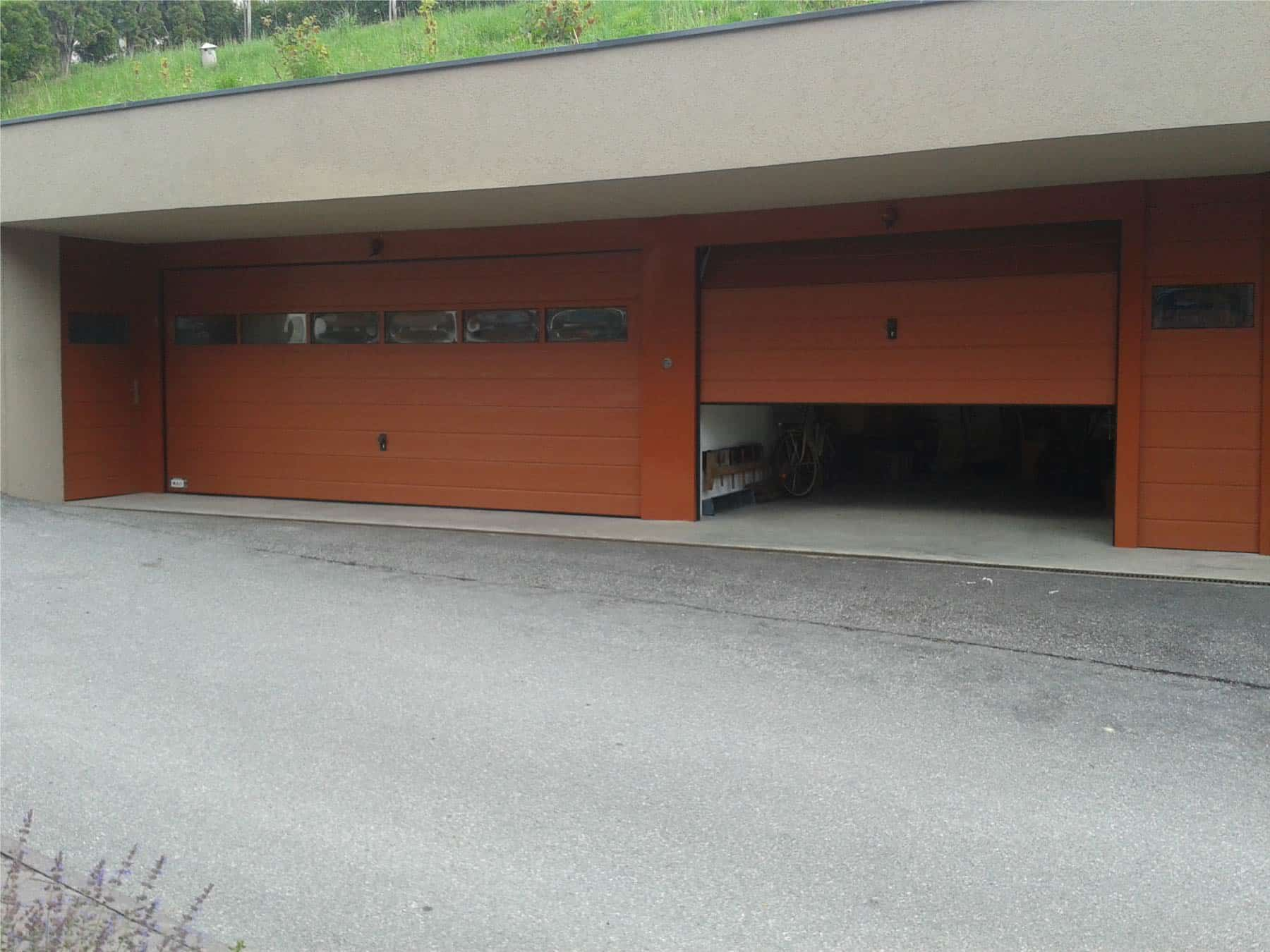 Garagentore Sektionaltore Holz